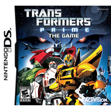 Transformers: Prime The Game – NDS