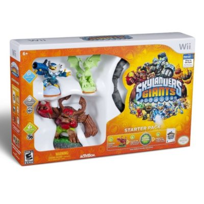 Exclusive Skylanders Giants Starter Pack - Wii