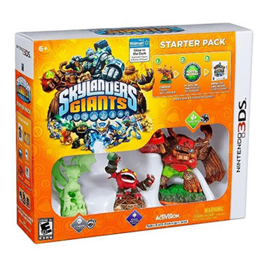 Exclusive Skylanders Giants Starter Pack - 3DS