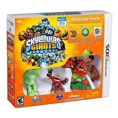 Exclusive Skylanders Giants Starter Pack - 3DS