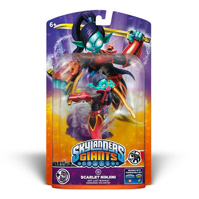 Skylanders Giants Single Character Pack (Giant) - Scarlet Ninjini