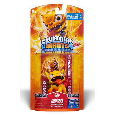 Exclusive Skylanders Giants Single Character Pack - Molten Hot Dog