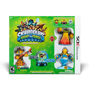 Skylanders Swap Force Starter Pack - Various Systems