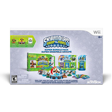 Skylanders Swap Force Super Pack Wii