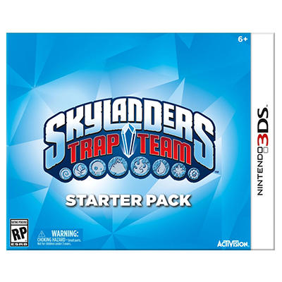 Skylanders Trap Team Starter Kit - 3DS