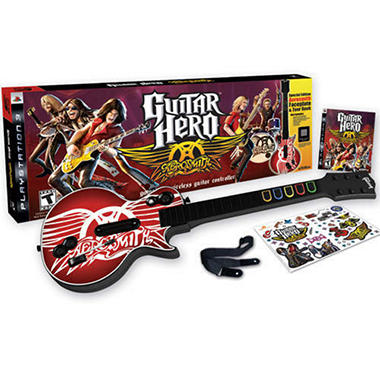 guitar hero aerosmith bundle ps3 sam 39 s club. Black Bedroom Furniture Sets. Home Design Ideas