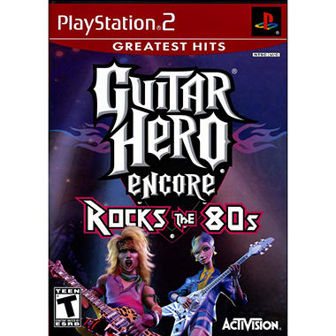 Guitar Hero Encore: Rocks the 80s - PS2