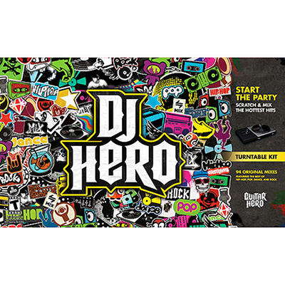 DJ Hero Bundle - Wii