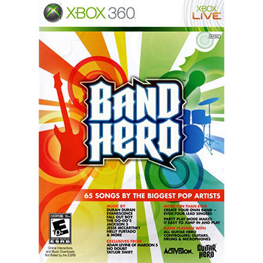 Band Hero (Software Only) - Xbox 360