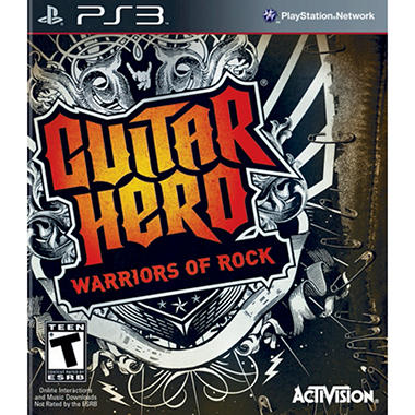 Guitar Hero 6: Warriors of Rock (Software Only) - PS3