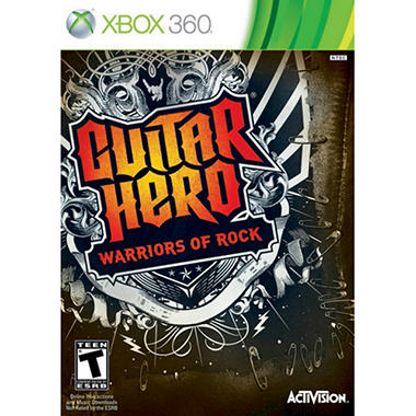 Guitar Hero 6: Warriors of Rock (Software Only) - Xbox 360