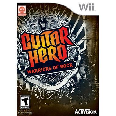 Guitar Hero 6: Warriors of Rock (Software Only) - Wii