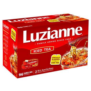 Luzianne Tea Bags - Quart Size - 96 ct.