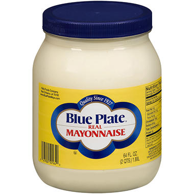 Blue Plate� Real Mayonnaise - 64 oz.