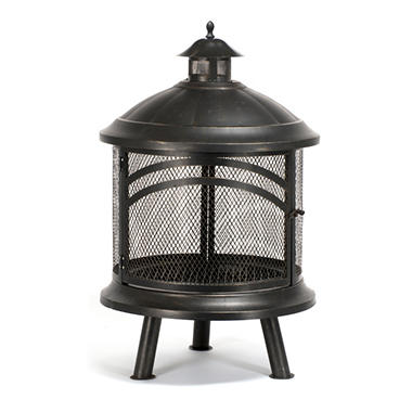 Bayside Wood Buning Outdoor Fireplace
