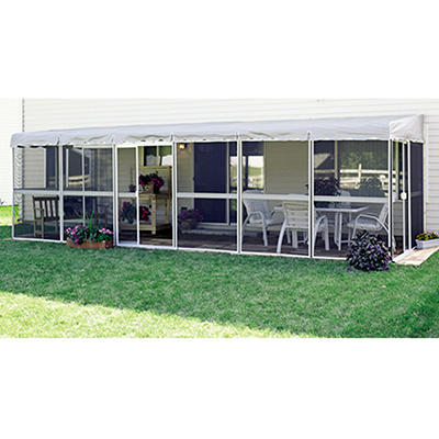 "PatioMate Screenhouse - 10 Panel - 50"" - White"