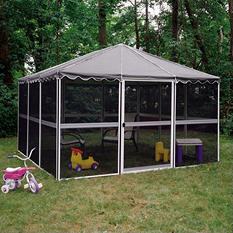 "Casita® Screenhouse - 11'7"" x 11'7"" - Gray"