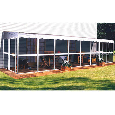 "PatioMate Screenhouse - 12 Panel - 45"" - White"