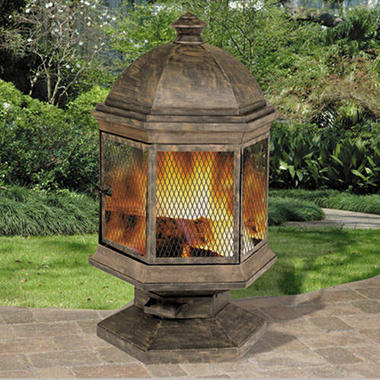 "DeckMate® Hyde Park™ Outdoor Fireplace 41"" Tall"
