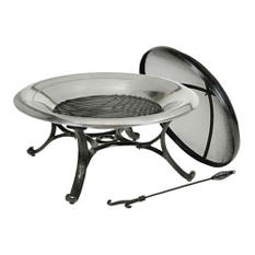Deckmate Stainless Steel Firebowl