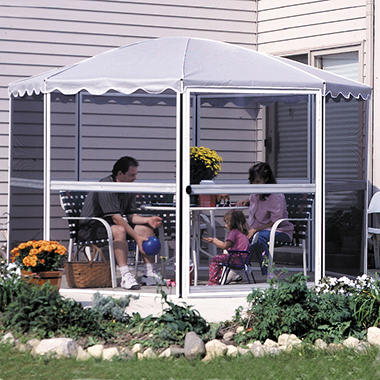 "Casita® Screenhouse - 11'1"" Round - Gray"