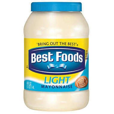 Best Foods� Light Mayonnaise - 48 oz.