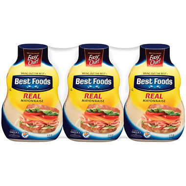 Best Foods� Real Mayonnaise - 3/22 oz.