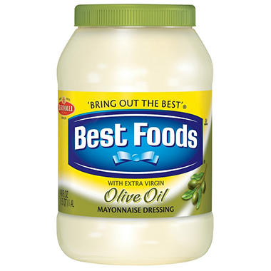 Best Foods - Mayonnaise with Olive Oil - 48 oz.