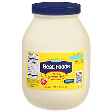 Best Foods Real Mayonnaise - 1 gal.