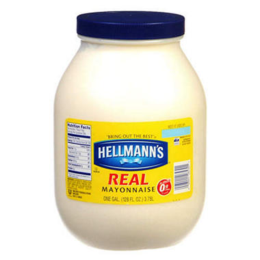 Hellmann's� Real Mayonnaise - 1 gallon jar