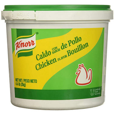 Knorr® Chicken Flavor Bouillon - 4.4 lb. bucket
