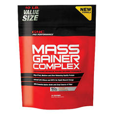 GNC Pro Performance Mass Gainer Complex - Double Chocolate - 10 lbs.
