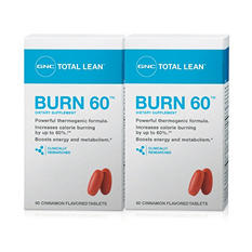 GNC Total Lean Burn - Cinnamon - 120 tablets