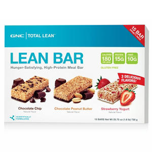 GNC Total Lean Protein Bar Variety Pack, 15 ct.