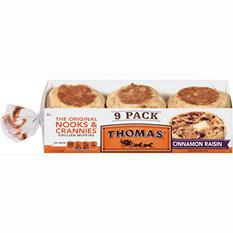 Thomas' English Muffins - Cinnamon Raisin - 19.5 oz. - 9 pk.