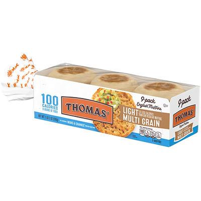 Thomas' English Muffins - Multi-Grain - 18 oz. - 9 pk.