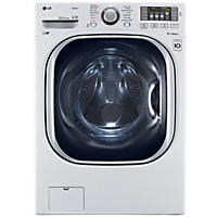 LG 4.5 cu. ft. Ultra-Large Capacity TurboWash Washer with NFC Tag-On Technology - WM4370HWA White