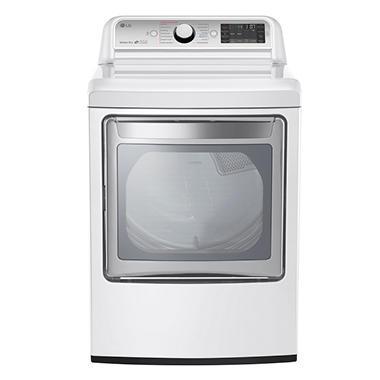 Lg 7 3 Cu Ft Ultra Large Capacity Turbosteam Gas Dryer