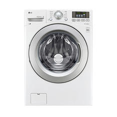 LG 4.5 cu. ft. Ultra-Large Capacity Front-Load Washer with ColdWash Technology - WM3270CW White