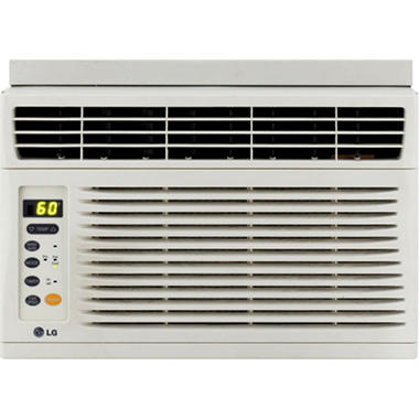 LG Electronics Energy Star 6,000 BTU Window-Mounted Air Conditioner with Remote Control