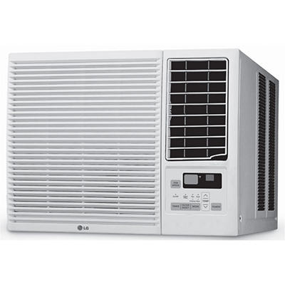 LG 7,000 BTU 115V Window-Mounted Air Conditioner with 3,850 BTU Supplemental Heating Function