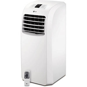 LG 8,000 BTU 115V Portable Air Conditioner with Remote Control (White)