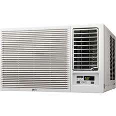 LG 12,000 BTU 230V Slide in-Out Chassis Air Conditioner with 11,200 BTU Supplemental Heat Function
