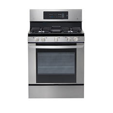 LG 5.4 cu. ft. Single-Oven Gas Range with EasyClean - LRG3061ST Stainless Steel