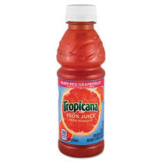 Tropicana 100% Juice, Ruby Red Grapefruit (10 oz., 12 pk.)