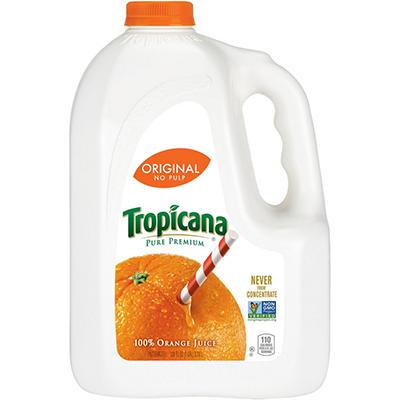 Tropicana® Pure Premium No Pulp - 1 gal jug