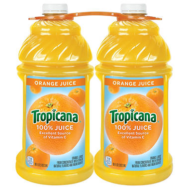 Tropicana� 100% Orange Juice - 96 fl. oz. - 2 ct.