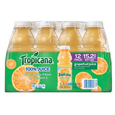 Tropicana Grapefruit Juice - 12/15.2 oz. bottles