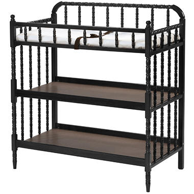 Jenny Lind Changing Table - Ebony