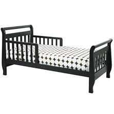 DaVinci Sleigh Toddler Bed, Ebony